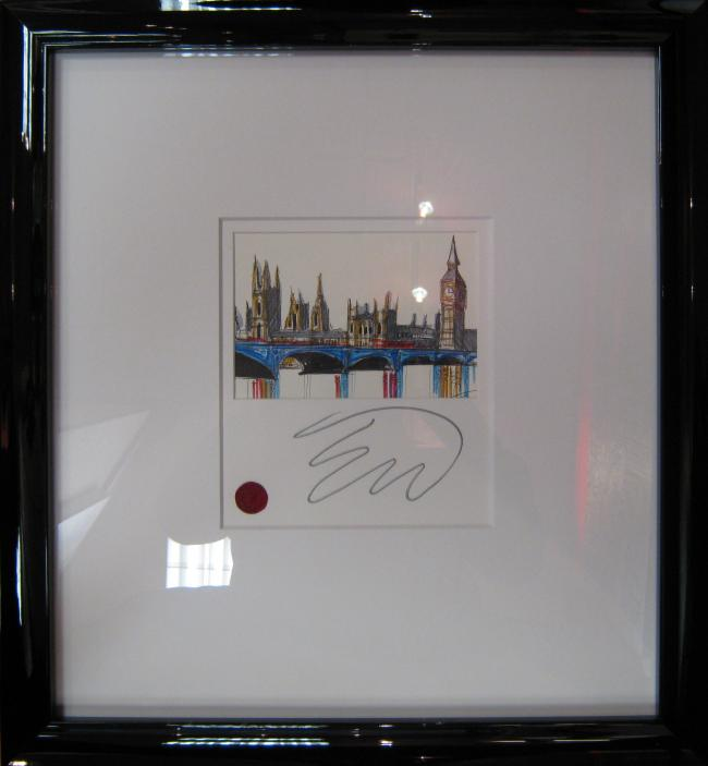 Westminster Skyline - Sketch by Edward Waite