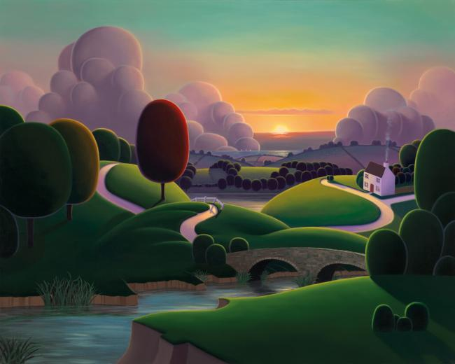 When The River Meets The Sea by Paul Corfield