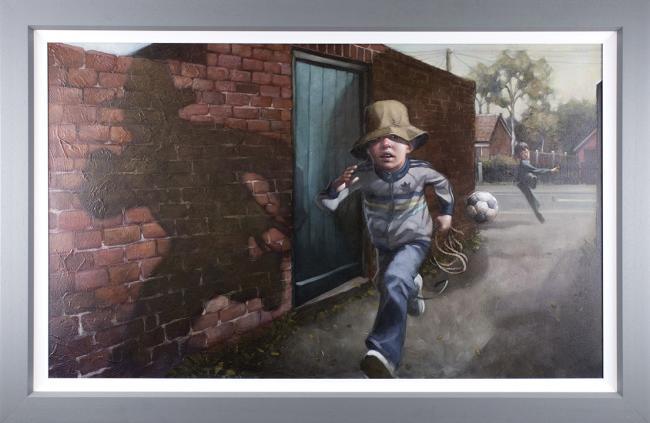 Whip It .. Whip It Good - Canvas by Craig Davison