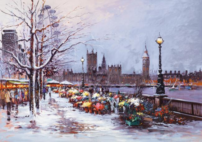Winter in Westminster by Henderson Cisz