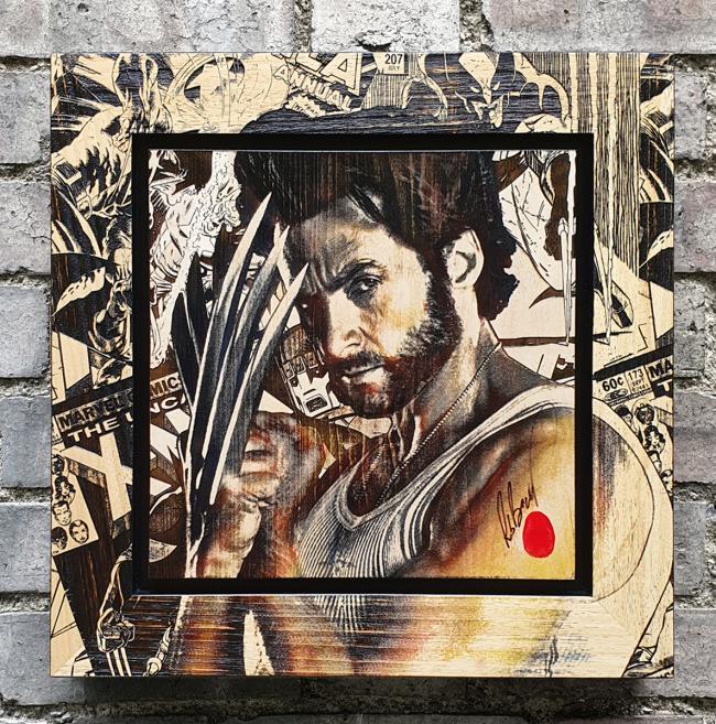 Wolverine by Rob Bishop