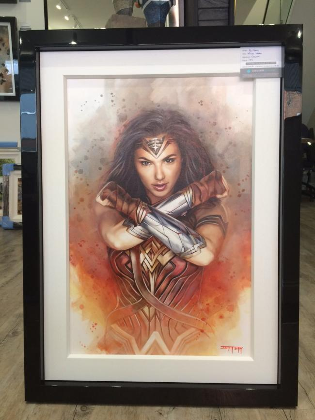 Wonder Woman by Ben Jeffery