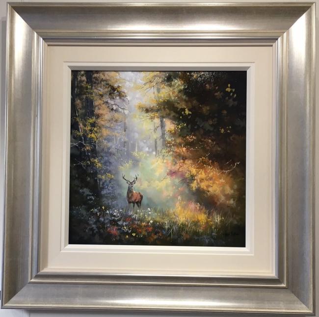 Woodland Stag I by Allan Morgan