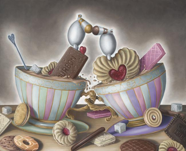 You Are The Biscuit To My Tea by Peter Smith