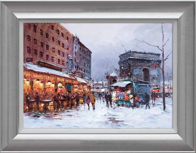 Paris In The Snow by Henderson Cisz