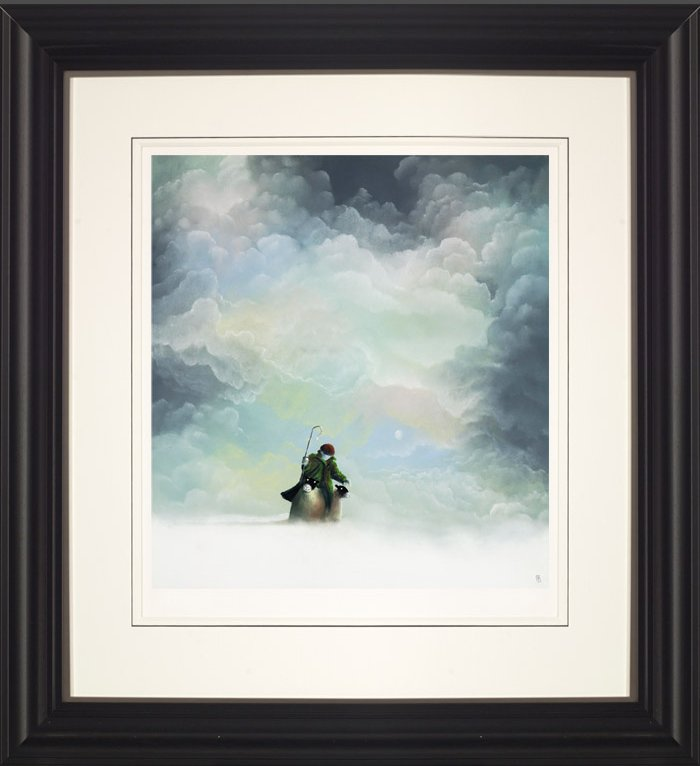 Morning Snow by Mackenzie Thorpe