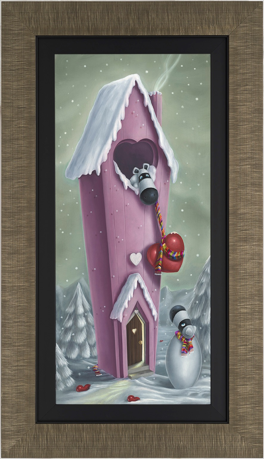 Snow Place Like Home by Peter Smith