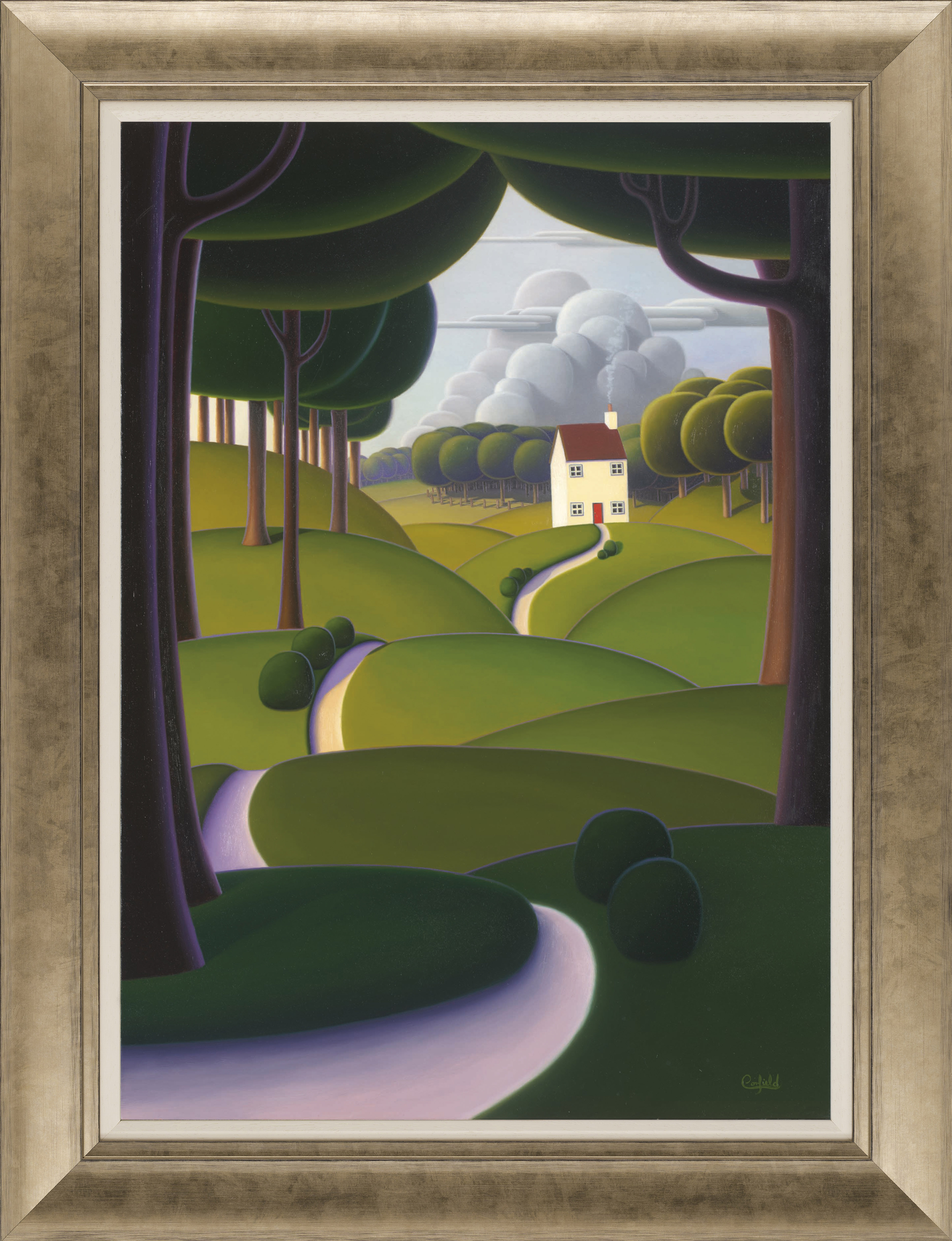 Secluded Retreat by Paul Corfield
