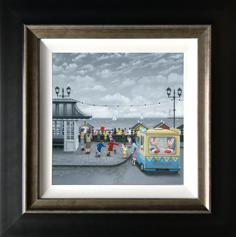 99's All Round - Canvas by Leigh Lambert