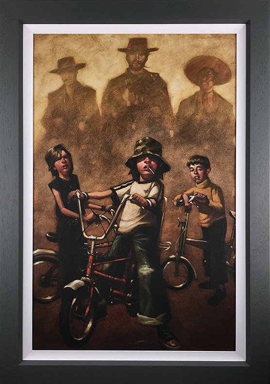 The Good The Bad and The Basin Cut - Canvas by Craig Davison