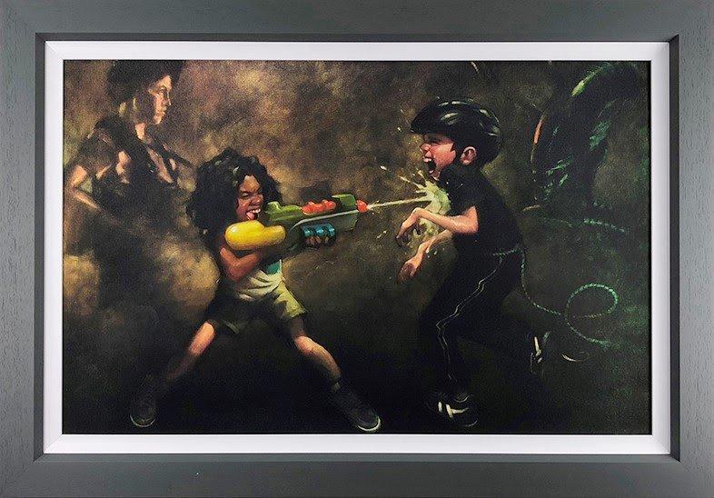 Ripleys Game - Canvas by Craig Davison