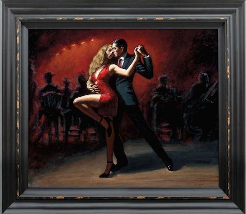 Tango En San Telmo by Fabian Perez