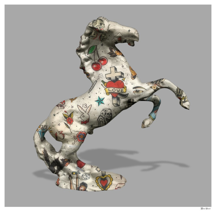 Stallion - Small by Monica Vincent