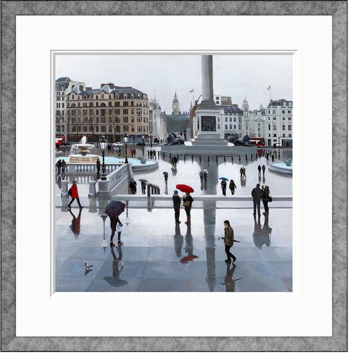 Trafalgar Square by Jo Quidley