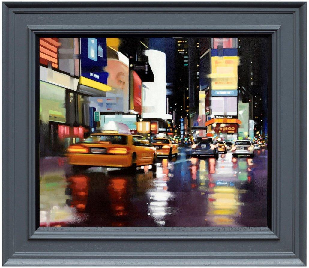 New York City Motion - Canvas by Neil Dawson