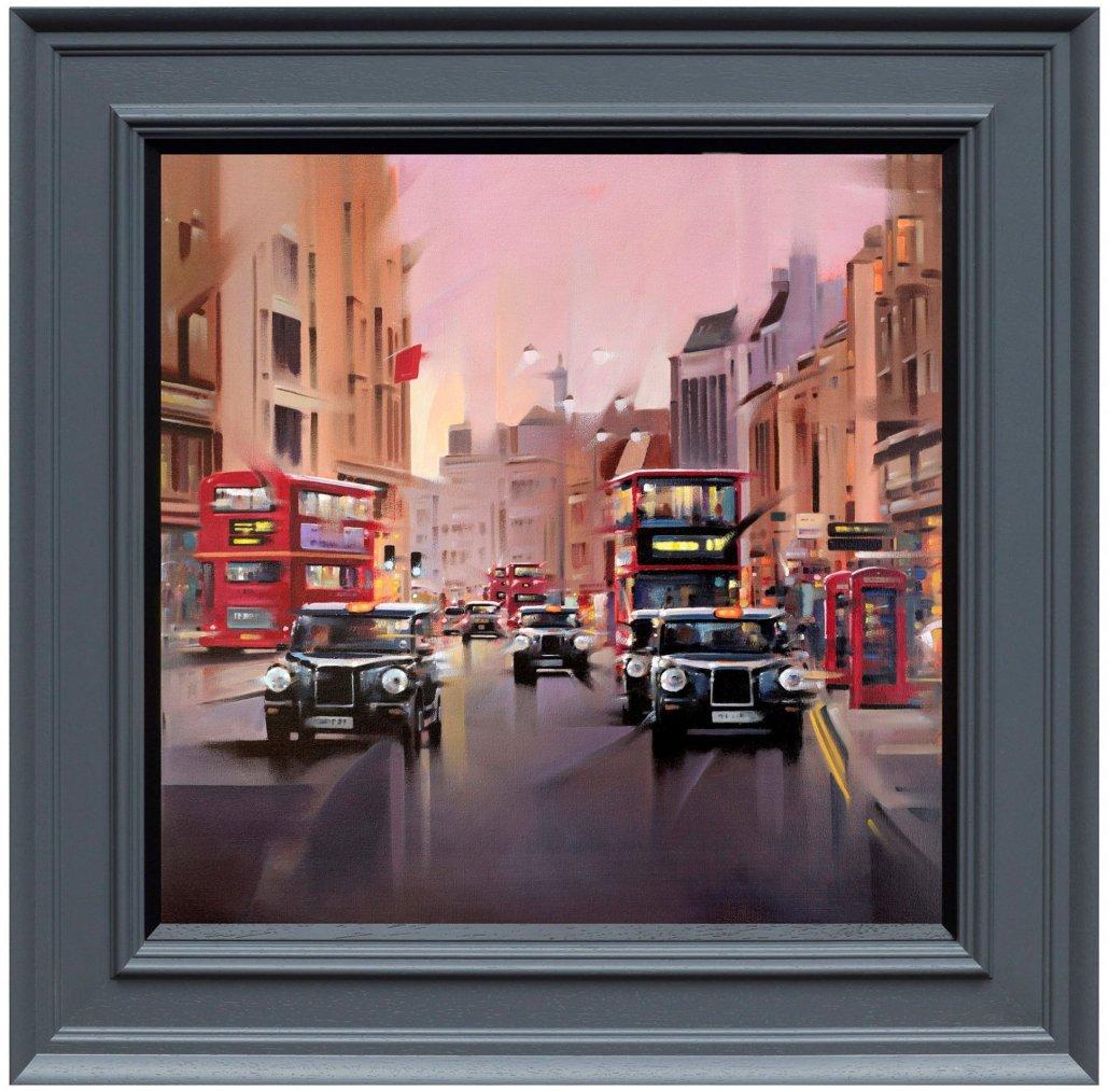 City Streets - Canvas by Neil Dawson