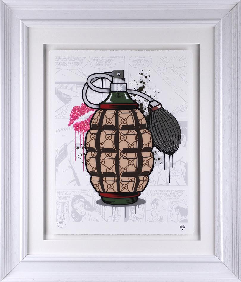 Designer Grenade- Gucci by JJ Adams
