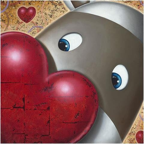 A Forever Love - Hand Finished by Peter Smith