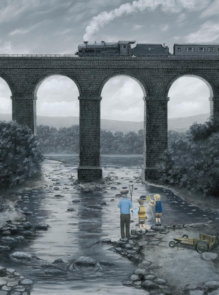 A Great Spot- Canvas by Leigh Lambert