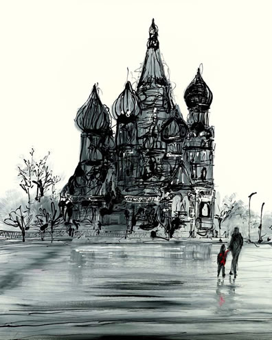 A Russian Winter by Paul Kenton