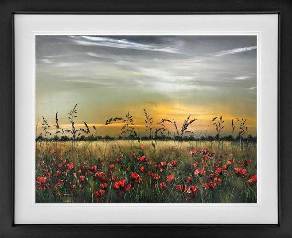 A Scarlet Meadow by Kimberley Harris