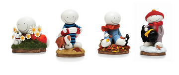 A Smile For All Seasons (Set Of 4) by Doug Hyde
