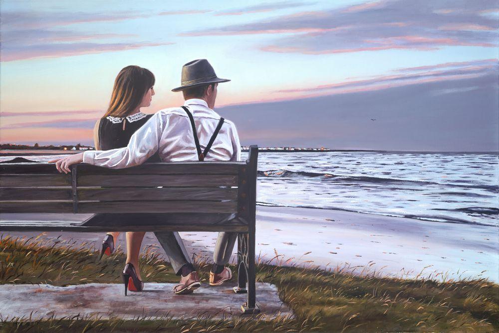 A Warm Summer Evening by Richard Blunt