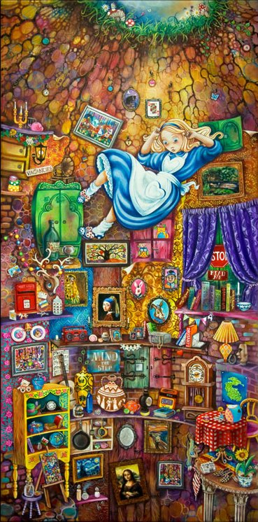 Alice Down The Rabbit Hole by Kerry Darlington