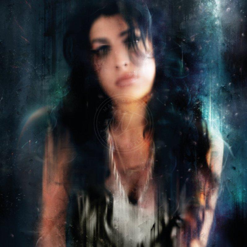 Amy - Amy Winehouse by Mark Davies