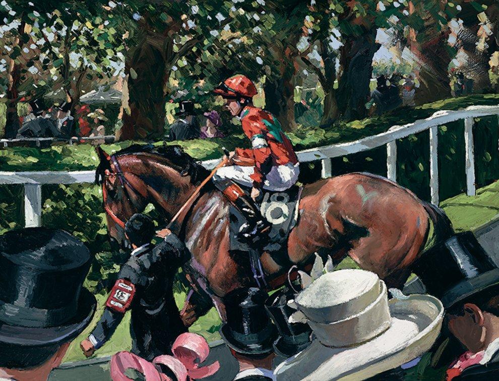 Ascot Race Day II by Sherree Valentine Daines