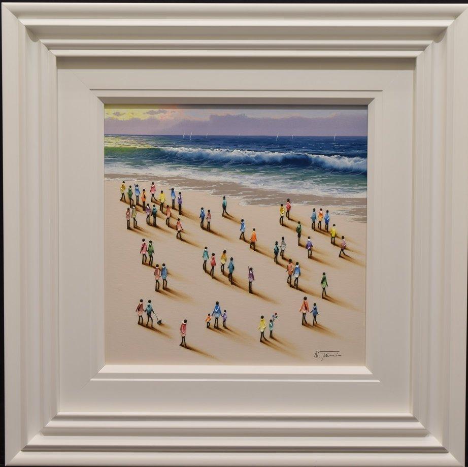 Beach Original II by Nurio Muro