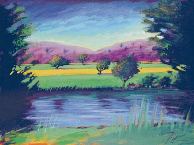 Blue River II by Paul Powis
