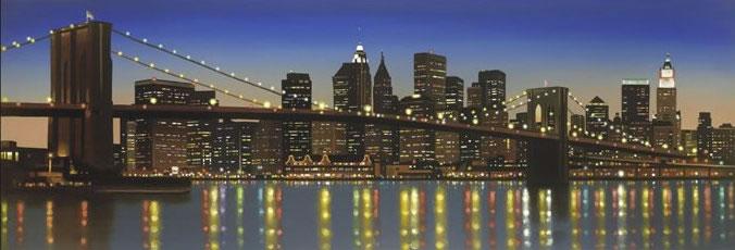 Brooklyn Nights by Neil Dawson