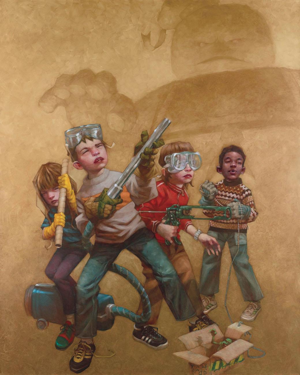 Bustin' Makes Me Feel Good - Boxed Canvas by Craig Davison