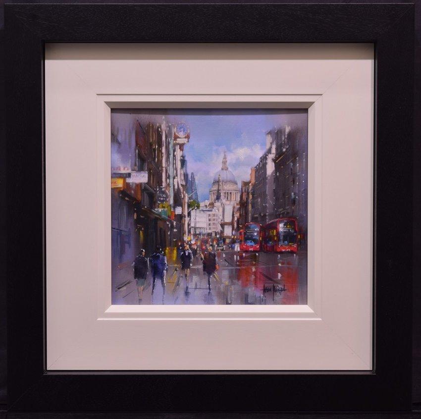 Bustling City III by Allan Morgan