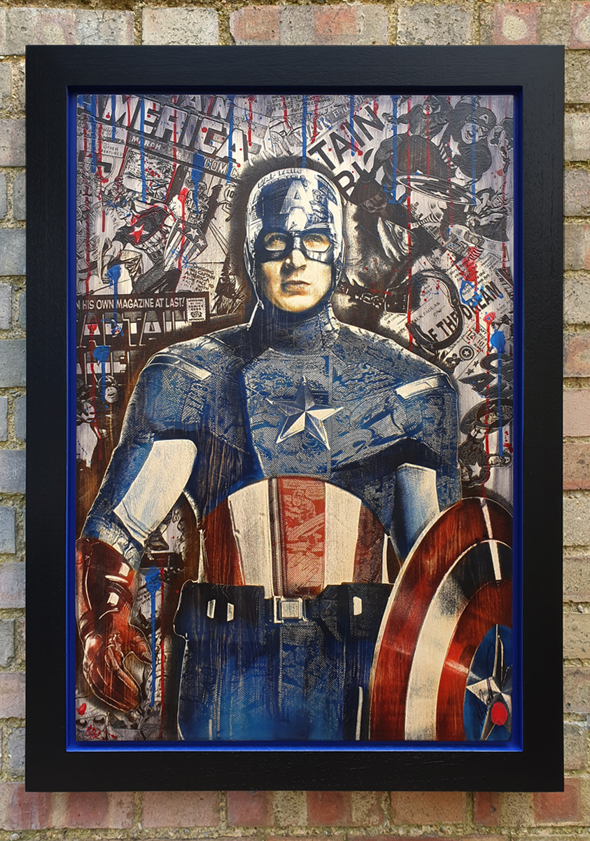 Captain America by Rob Bishop