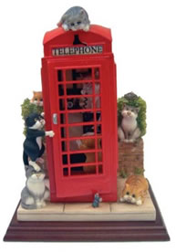 Cat Call - Sculpture by Linda Jane Smith