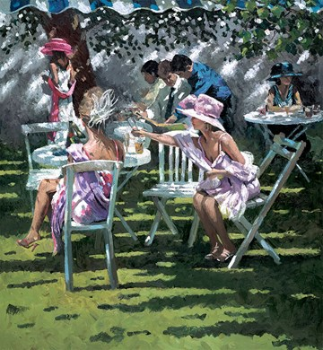 Champagne in the shadow by Sherree Valentine Daines