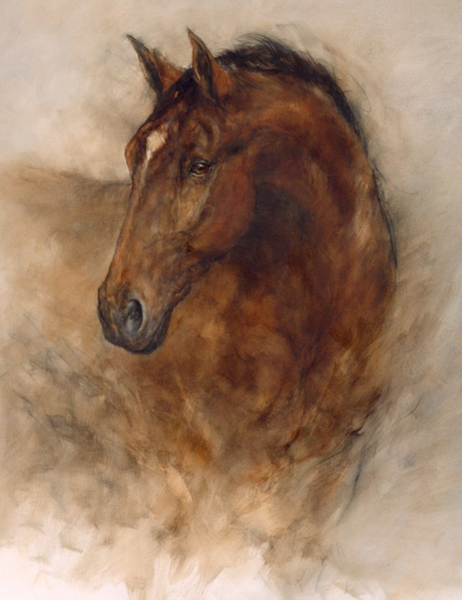Chestnut Elegance by Gary Benfield