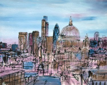 City View III - London by Paul Kenton