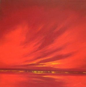 Crimson Horizon III by Rob Ford