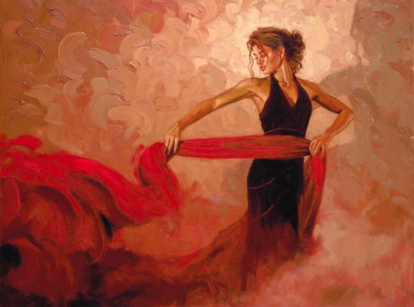 Crimson Passion by Mark Spain