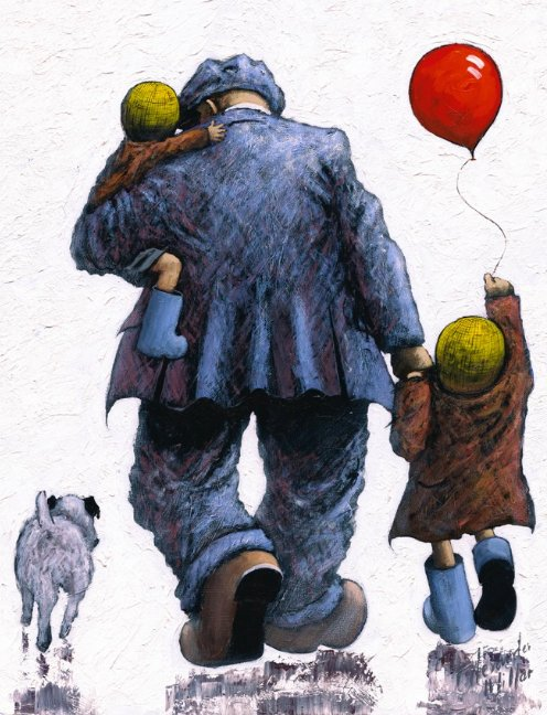 Dad - Large by Alexander Millar