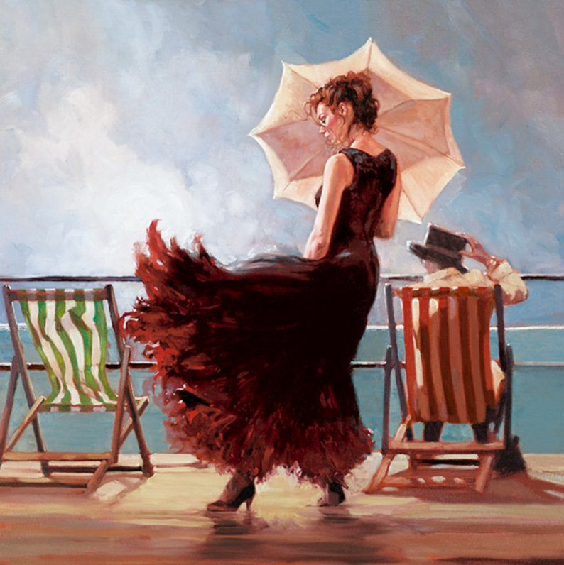 Dancing on the Deck by Mark Spain
