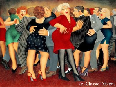 Dancing The Black Bottom - Official Collectors Edition by Beryl Cook