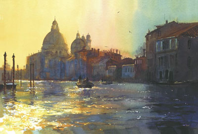Darkness & Light Grand Canal by Cecil Rice