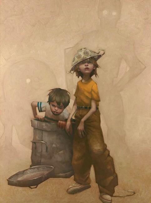 Dont Put The BEEP Lid On - Box Canvas by Craig Davison