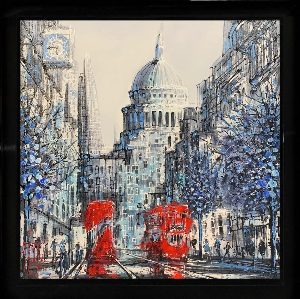 Double Routemaster by Nigel Cooke