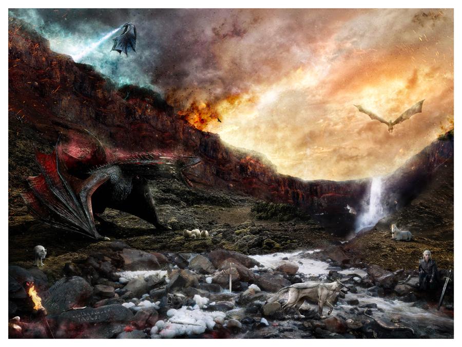 Dracarys by Mark Davies