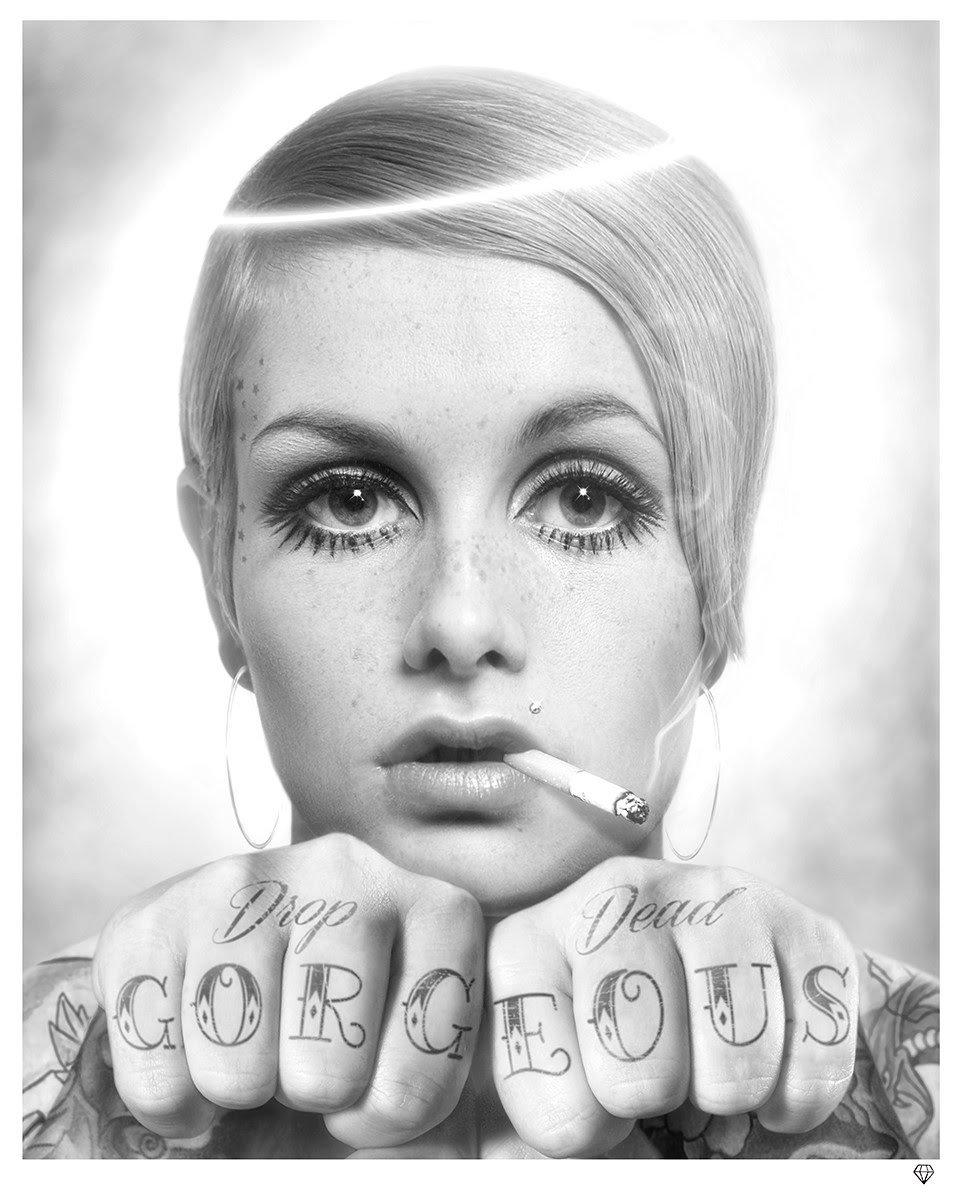 Drop Dead Gorgeous (Black & White) by JJ Adams